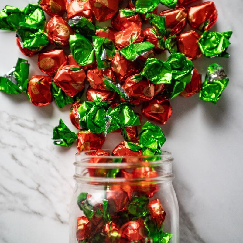 trefin wrapped strawberries