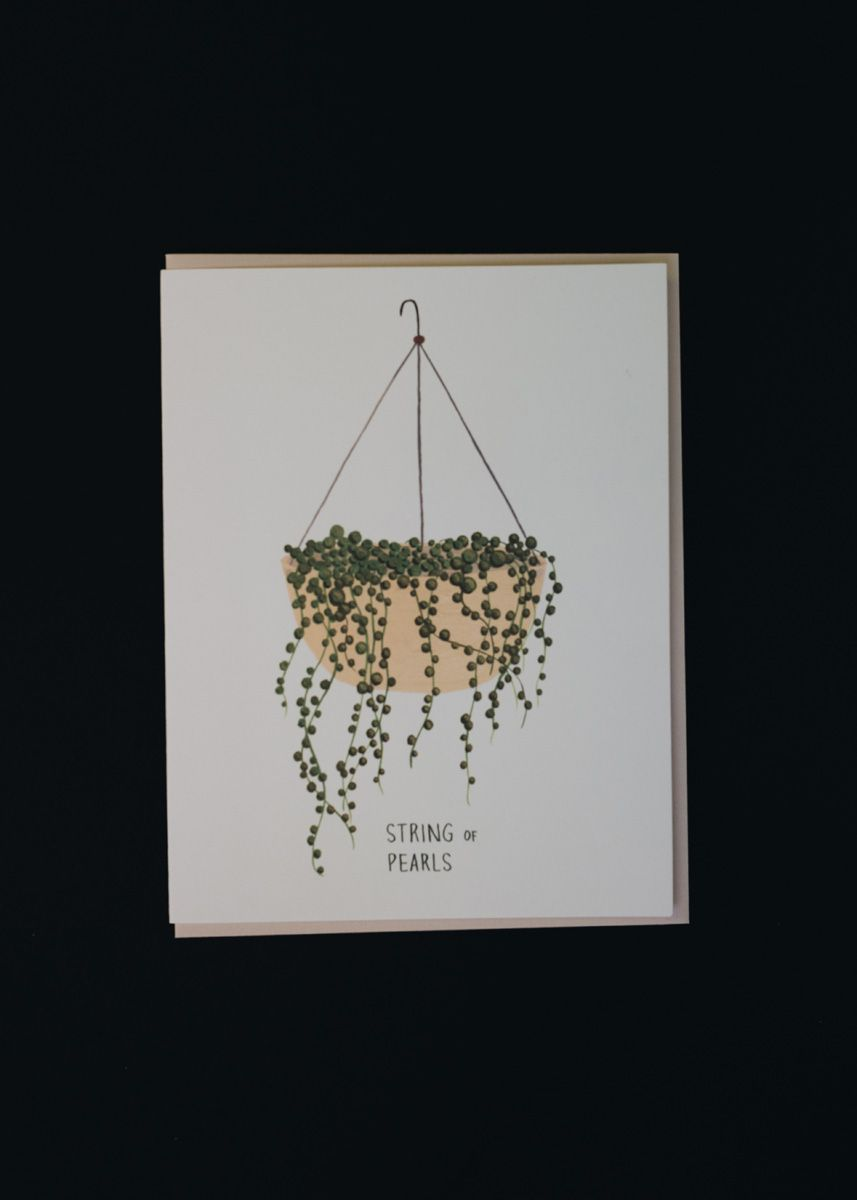String of Pearls Card