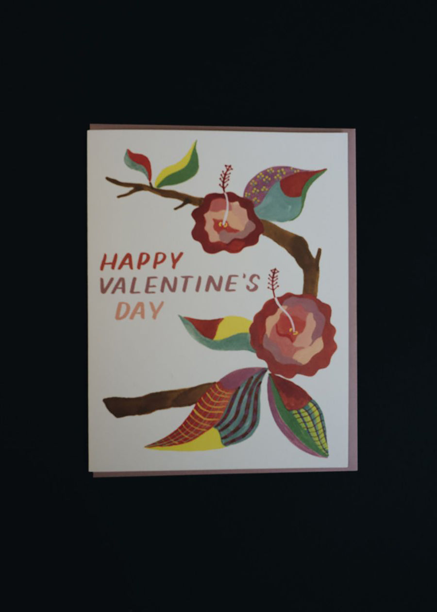 Valentine's Patterned Card