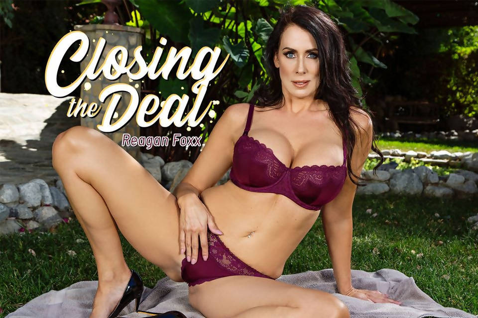 BaDoinkVR - Reagan Foxx - Closing the Deal