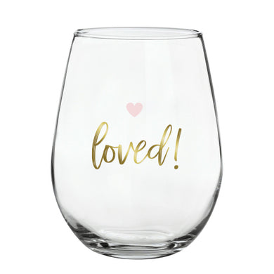 Loved Wine Glass