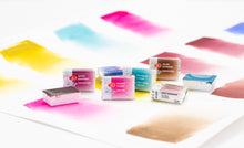 Load image into Gallery viewer, New 2020 colors WHITE NIGHTS watercolors pans and tubes