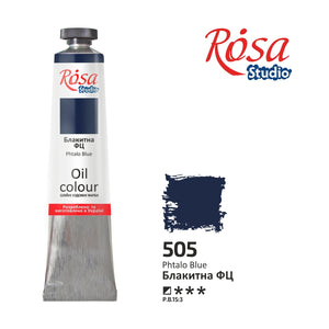 Oil paint Rosa Studio emerging and students single tube 60 ml or 2.02 oz