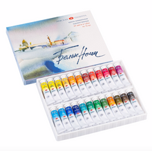 "Load image into Gallery viewer, Artists' Watercolor set ""White Nights"" 24 tubes 10 ml"