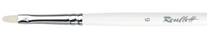 Brush Roubloff white synthetic oval long handle