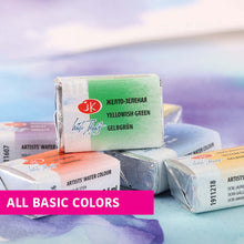 Load image into Gallery viewer, White Nights Artist Watercolors basic color single full pans 2.5 ml