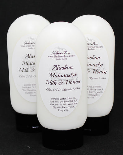 Alaskan Matanuska Milk & Honey Lotion