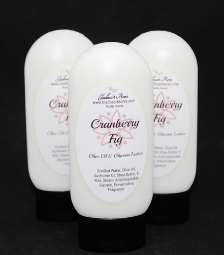 Cranberry Fig Lotion