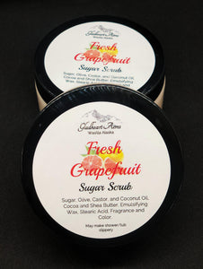 Fresh Grapefruit Sugar Scrub