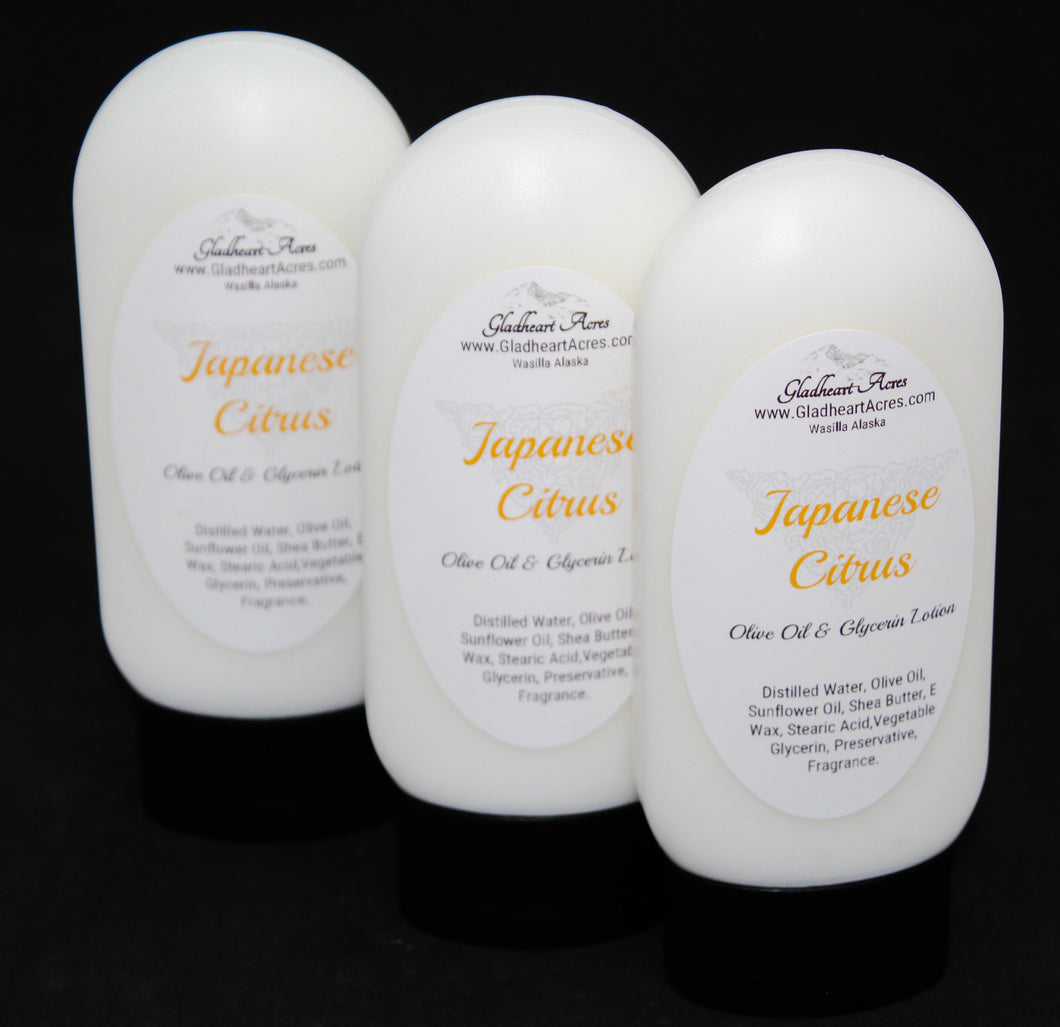 Japanese Citrus Lotion