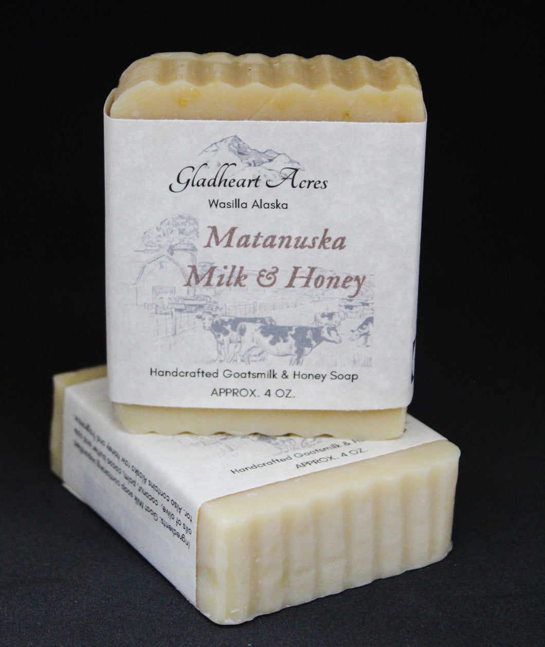 Alaskan Matanuska Milk & Honey Soap