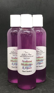 Blackberries & Cream Hand Sanitizer