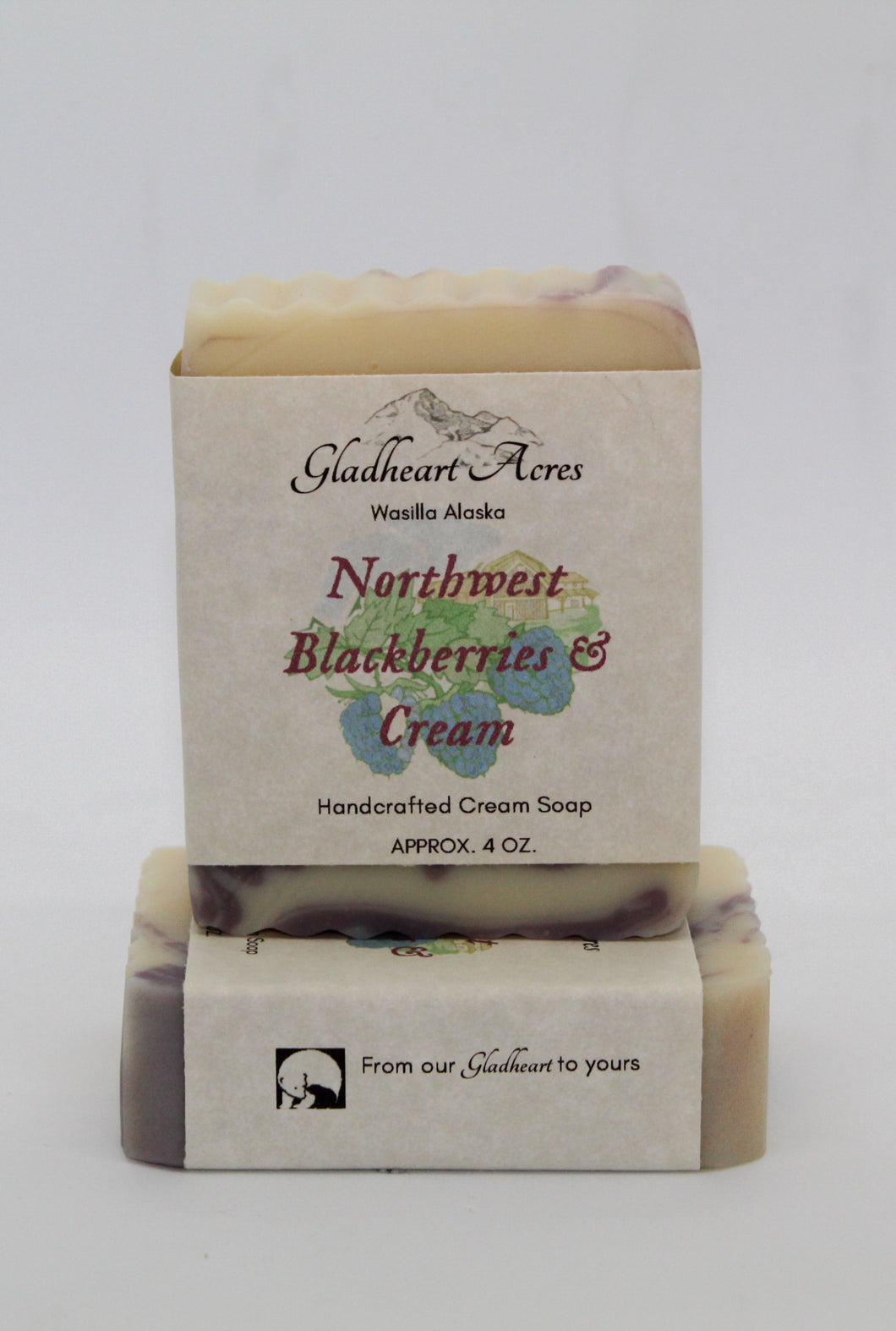Blackberries & Cream Soap