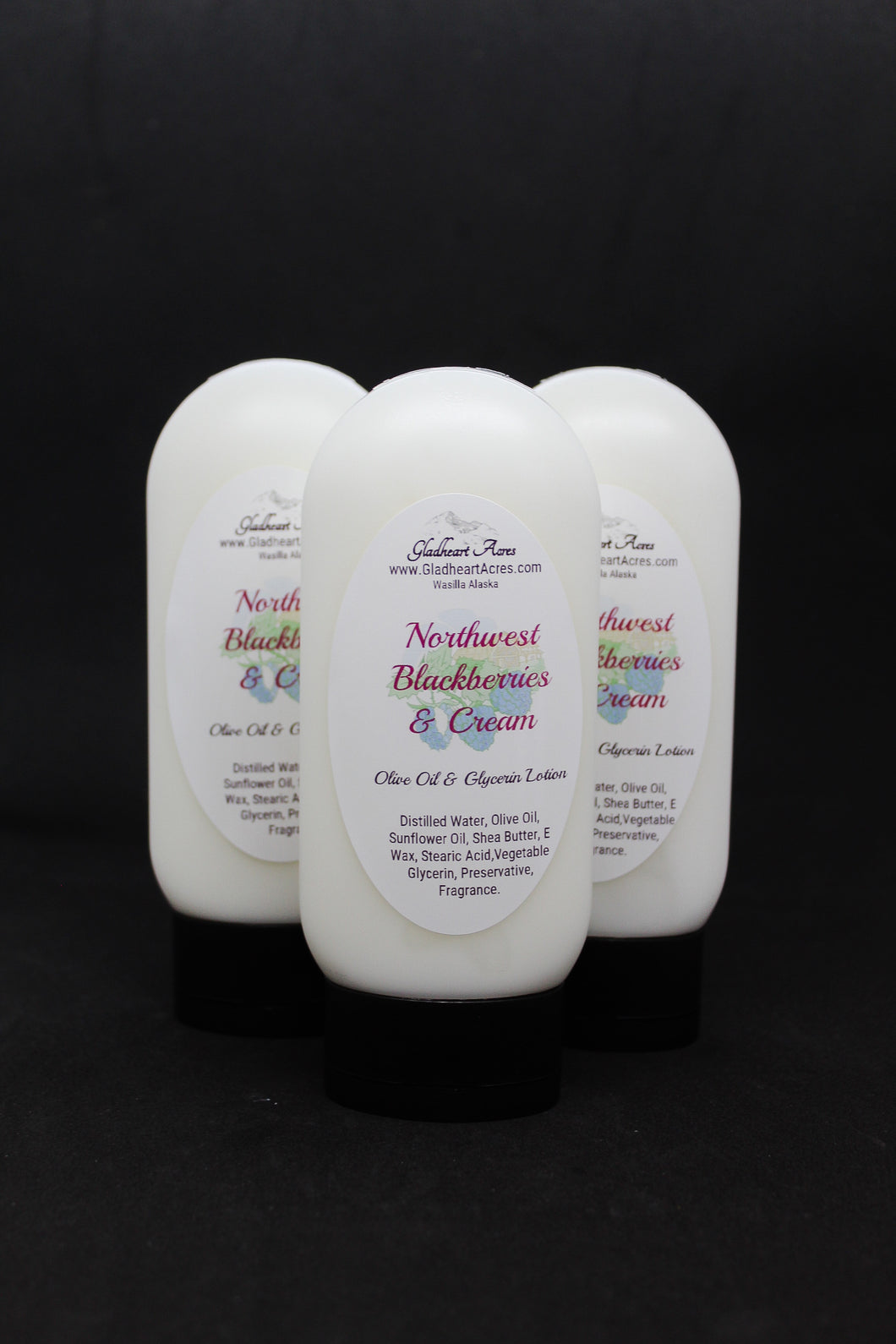 Northwest Blackberries & Cream Lotion