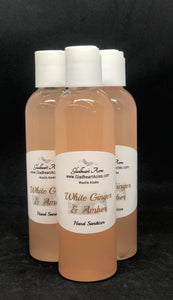 White Ginger & Amber Hand Sanitizer