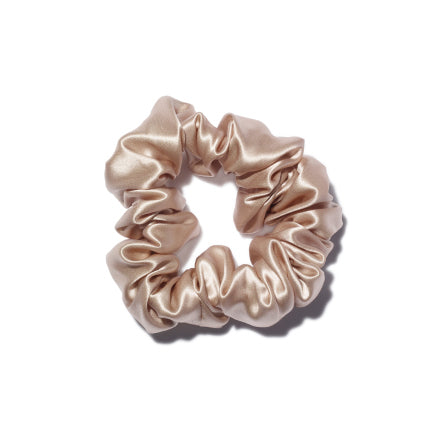 """Madame"" Satin Silk Scrunchie"