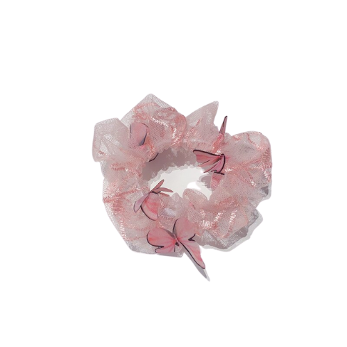 Butterfly Designed Scrunchie