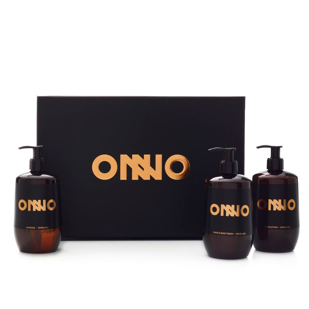 Onno Hand & Body Care collectie Sparkling