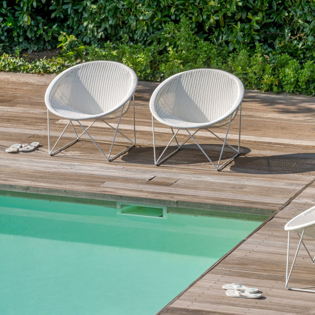 Feelgood desings C317 Lounge chair Outdoor  - Yuzuru Yanakawa