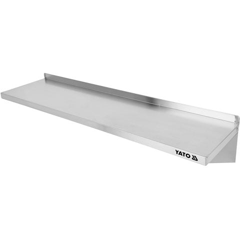 Repisa De Pared De Acero Inoxidable (120 Cm)