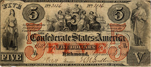 1800s counterfeit currency
