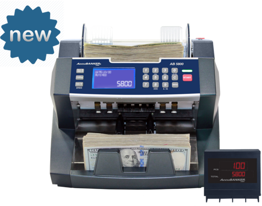 accubanker ab5800 money counter