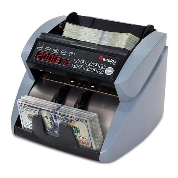 Cassida 5700 Currency Counter with Counterfeit Detection ...