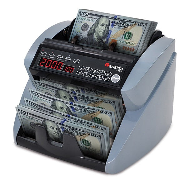 Cassida 5700 Currency Counter with Counterfeit Detection