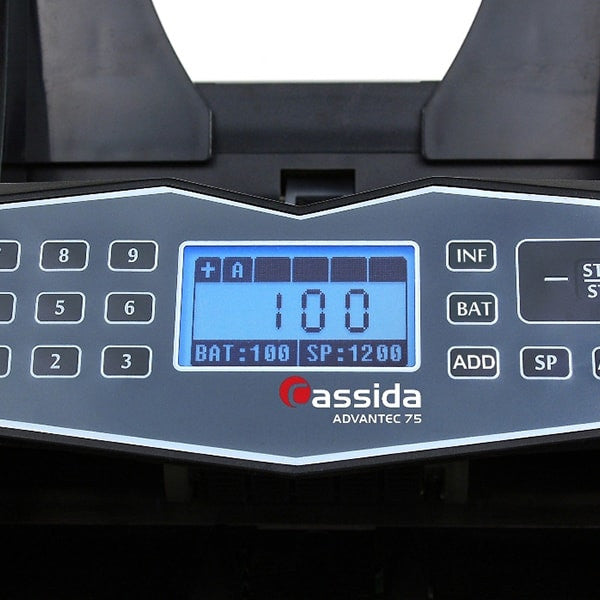 Cassida Advantec 75 Heavy Duty Currency Counter