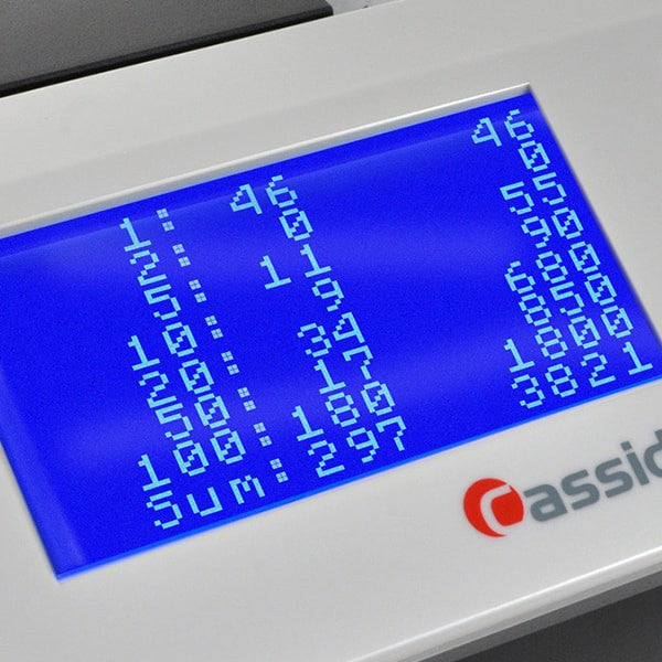 Cassida Cube - Automatic Mixed Bill Counter & Sorter