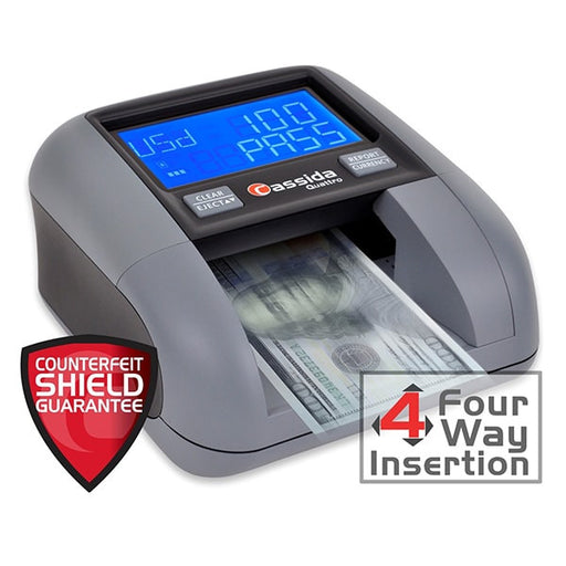 Cassida Quattro 4-Way Automatic Counterfeit Detector