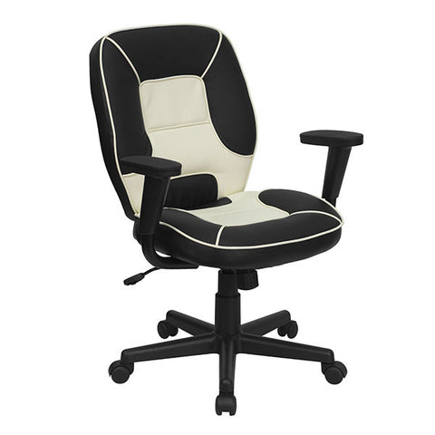 Flash Furniture Mid-Back Vinyl Steno Executive Office Chair