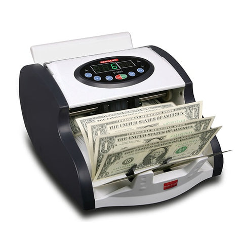 Semacon S-1025 Mini Currency Counter with UV/MG Detection