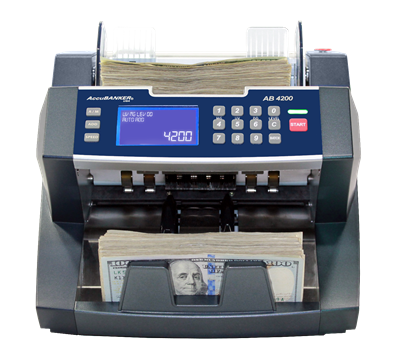 accubanker ab4200 currency counter