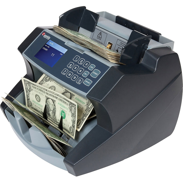 Cassida 6600 UV or UV/MG Currency Counter