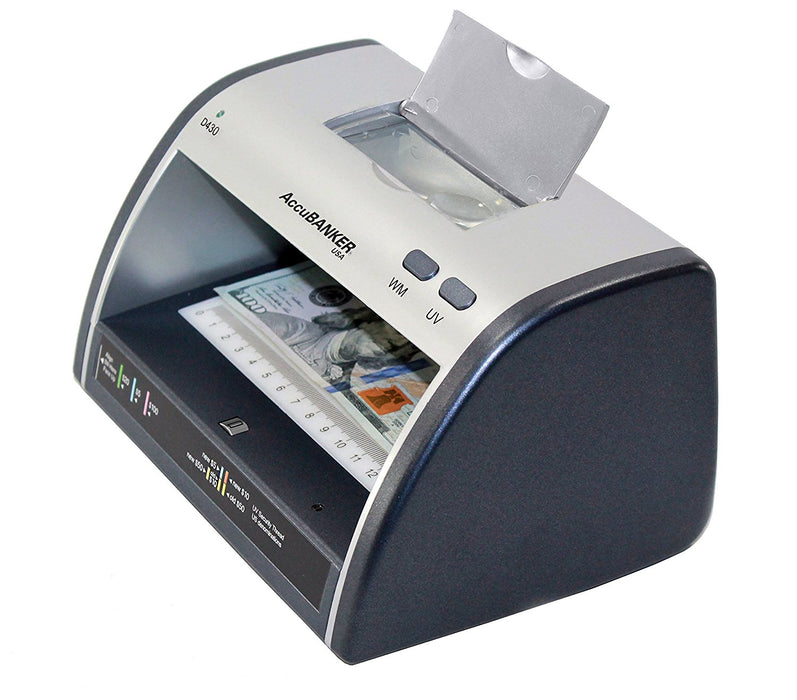 AccuBANKER LED430 Counterfeit Bill & Card Detector, 110V