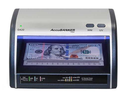 accubanker led420 id and counterfeit bill detector