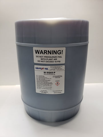 Squid Ink Black Water Based Ink 5 Gallon Pail (Black) SI-SQ60-P