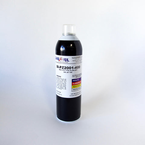 Squid Ink Red Dye Type Slow Dry Inkjet Ink (400 ml) SI-PZ2001-400