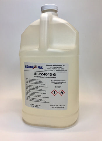 Squid Ink Solvent Based Flush/Cleaner SI-PZ4043-G