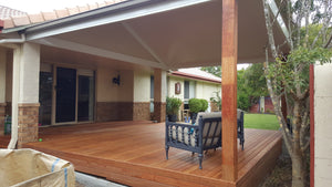 Attached, Gable Patio Roof- 6m x 4m