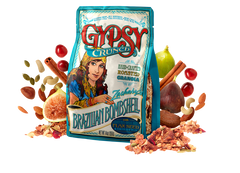 Gypsy Crunch Brazilian Bombshell Granola, gluten free, non GMO and all natural ingredients