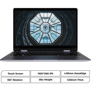 XIDU PhilBook Max Touchscreen Laptop