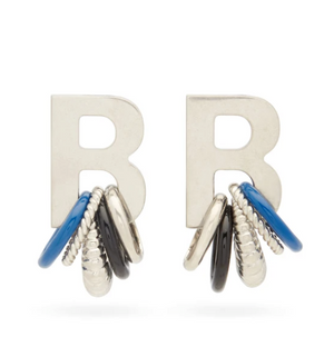 Open image in slideshow, Balenc*aga Multirings XL Earrings