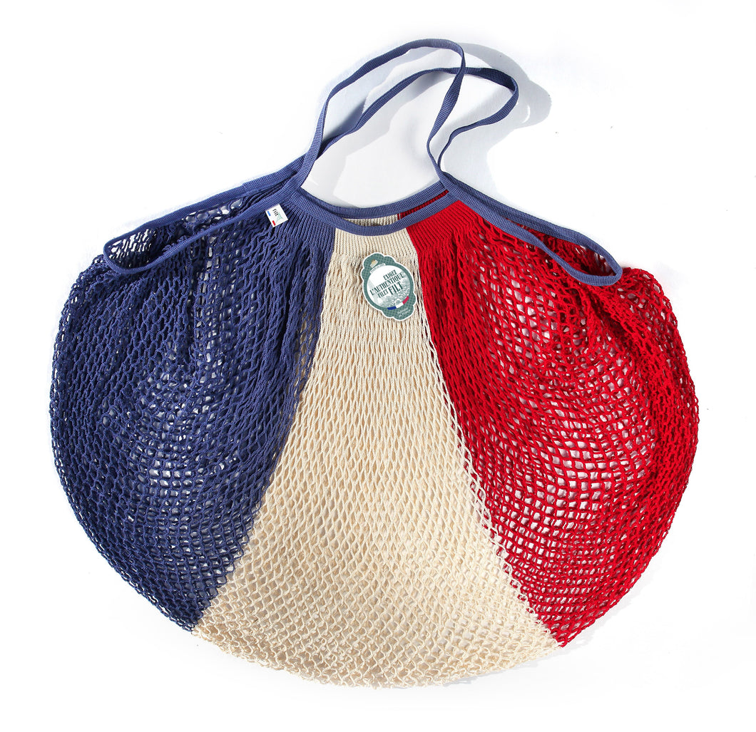 Filt French Market Tote Bag Large in Red, White, and Blue