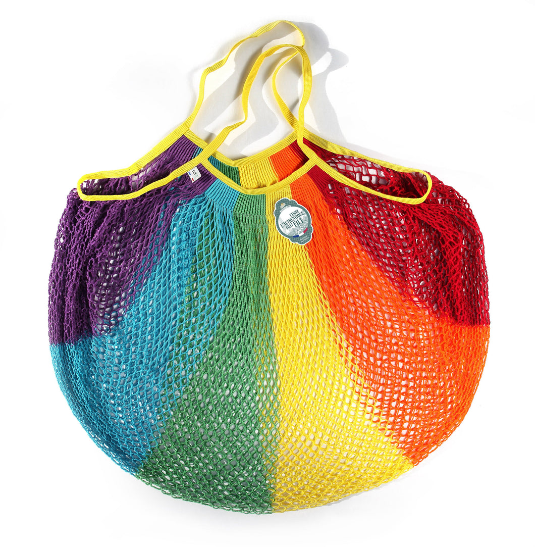 Filt French Market Tote Bag Large in Rainbow