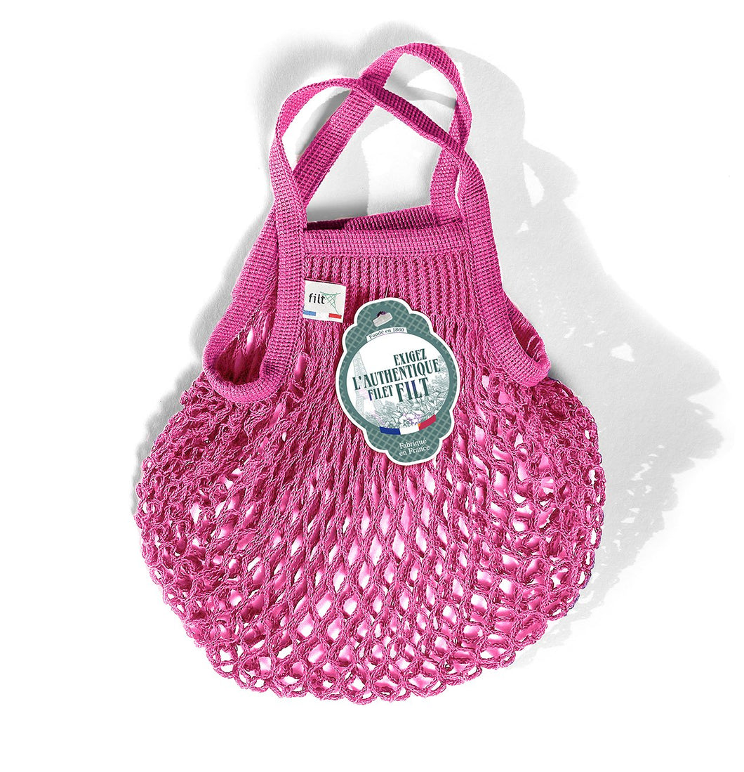 Filt French Market Tote Bag Small in Pink Sorbet (Set of 2)