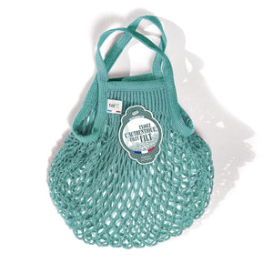 Filt French Market Tote Bag Small in Aqua (Set of 2)