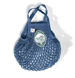 Filt French Market Tote Bag Small in Vintage Blue (Set of 2)