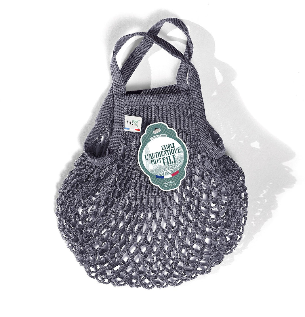 Filt French Market Tote Bag Small in Dark Grey (Set of 2)